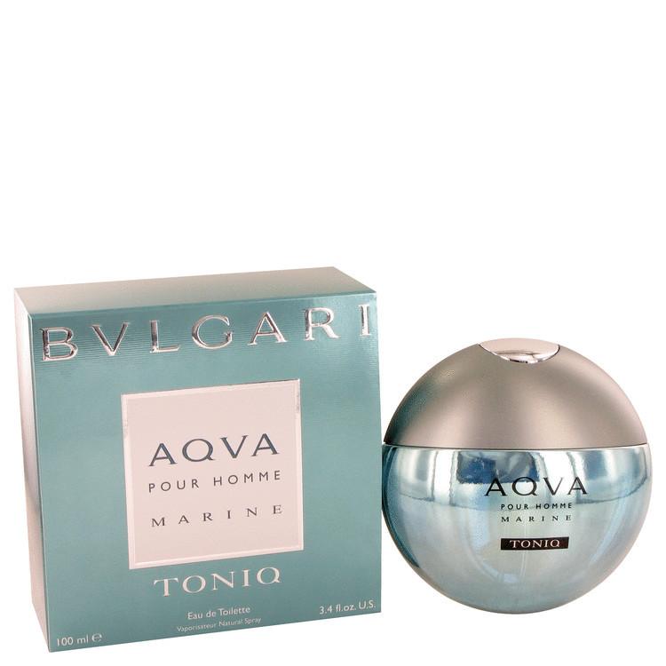 Aqua Marine Toniq Cologne for Men by Bvlgari Edt Spray 3.4 oz