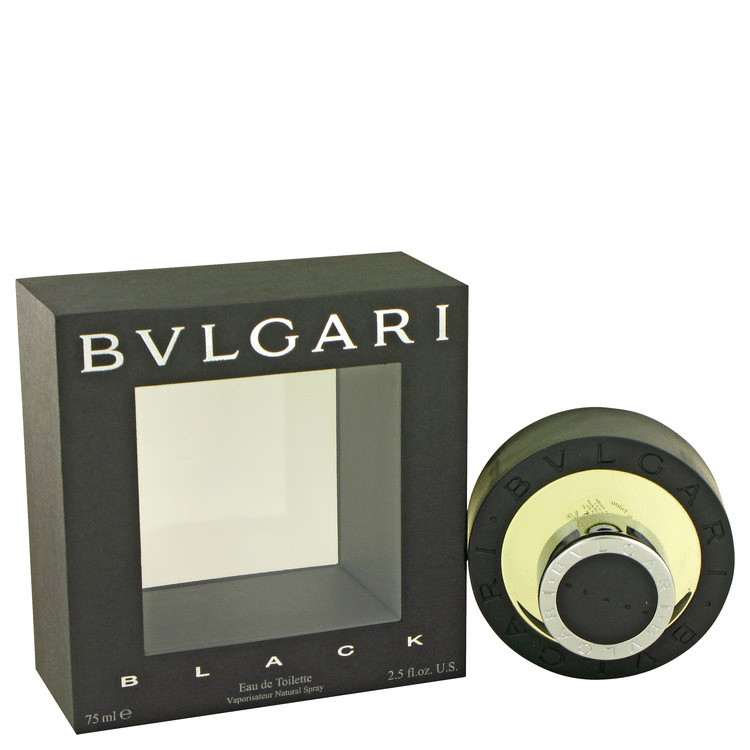 Black Cologne for Men by Bvlgari Edt Spray 2.5 oz