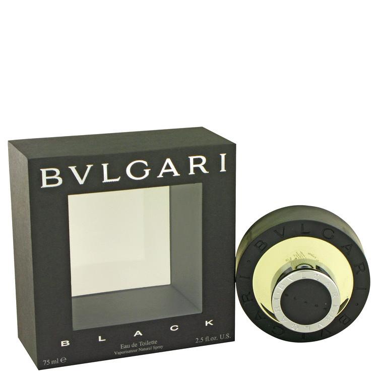 Black Cologne by Bvlgari for Men Edt Spray 2.5 oz