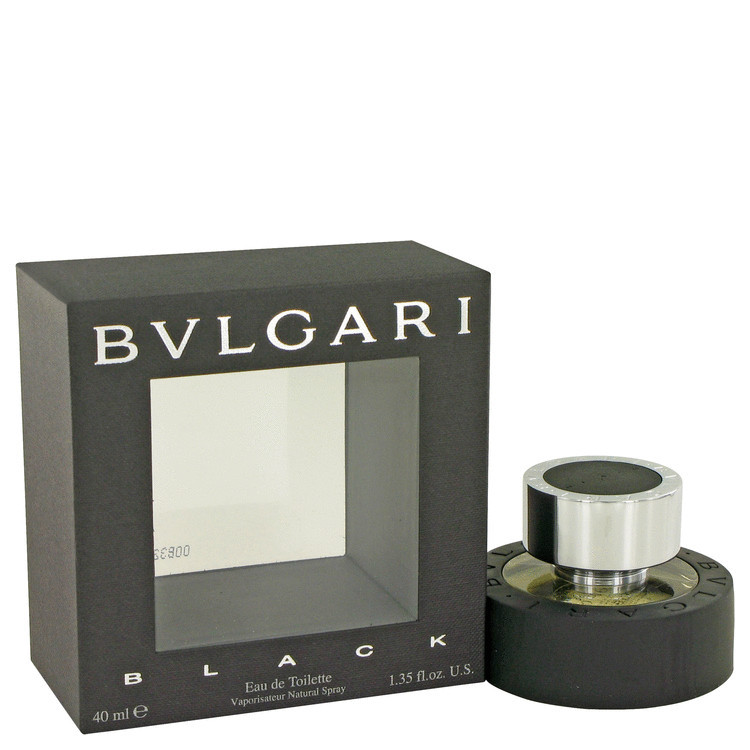 Black Cologne for Men by Bvlgari Edt Spray 1.3 oz