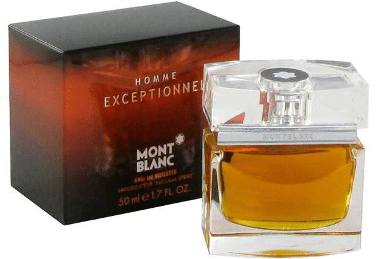 Homme Exceptional  By Mont Blanc Cologne For Men Edt Spray 1.7 oz