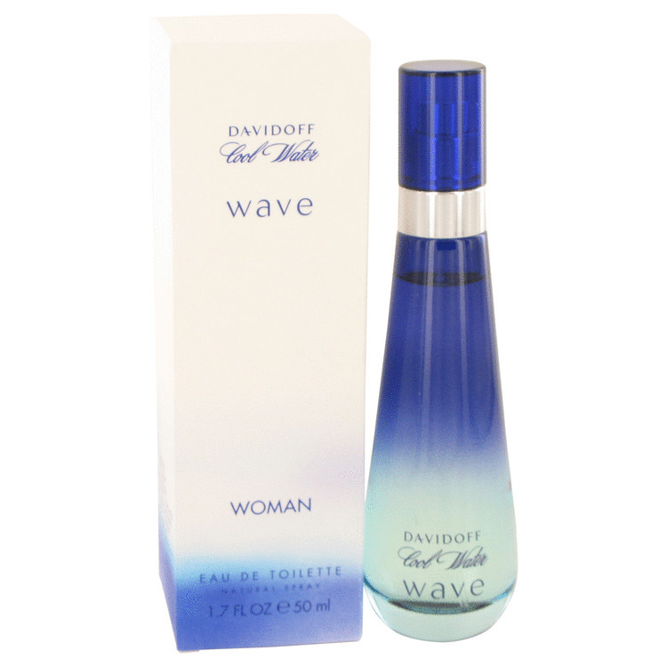 Cool Water Wave by Davidoff Womens Eau De Toilette EDT Spray 1.7 oz