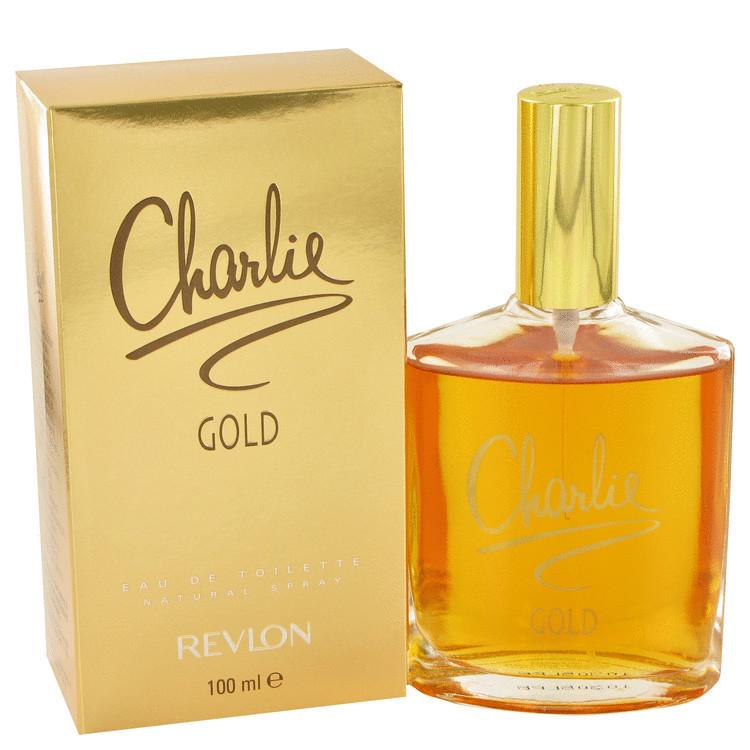 Charlie Gold Womens by Revlon Edt Spray 3.3 oz