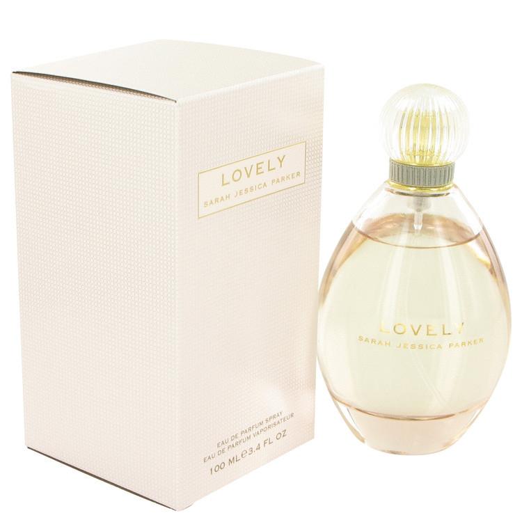 Lovely Perfume By Sarah J Parker For Women Eau de Parfum Edp Spray 3.4 oz