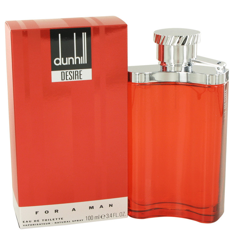 Desire Red Cologne for Men by Alfred Dunhill Edt Spray 3.4 oz