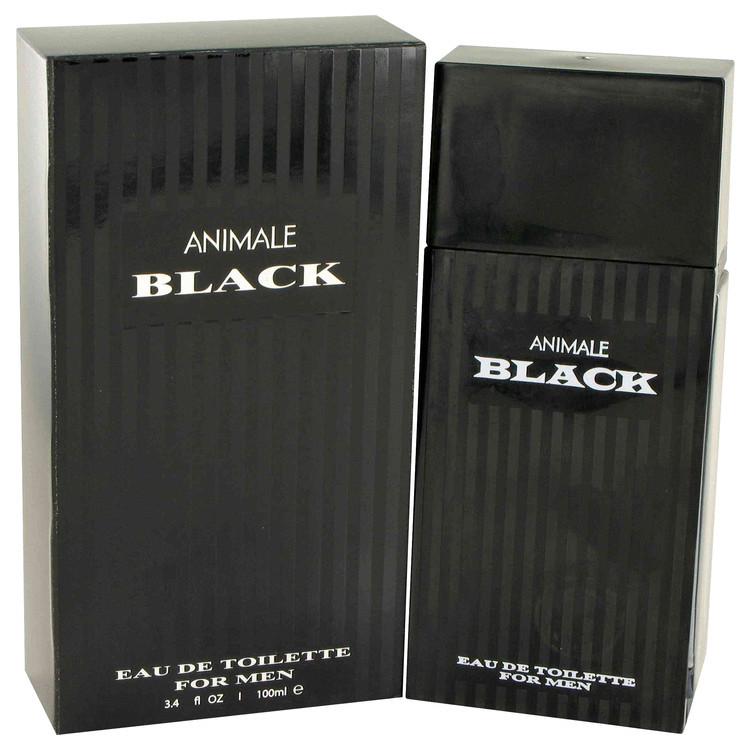 Animale Black Cologne Mens by Animale Edt Spray 3.4 oz