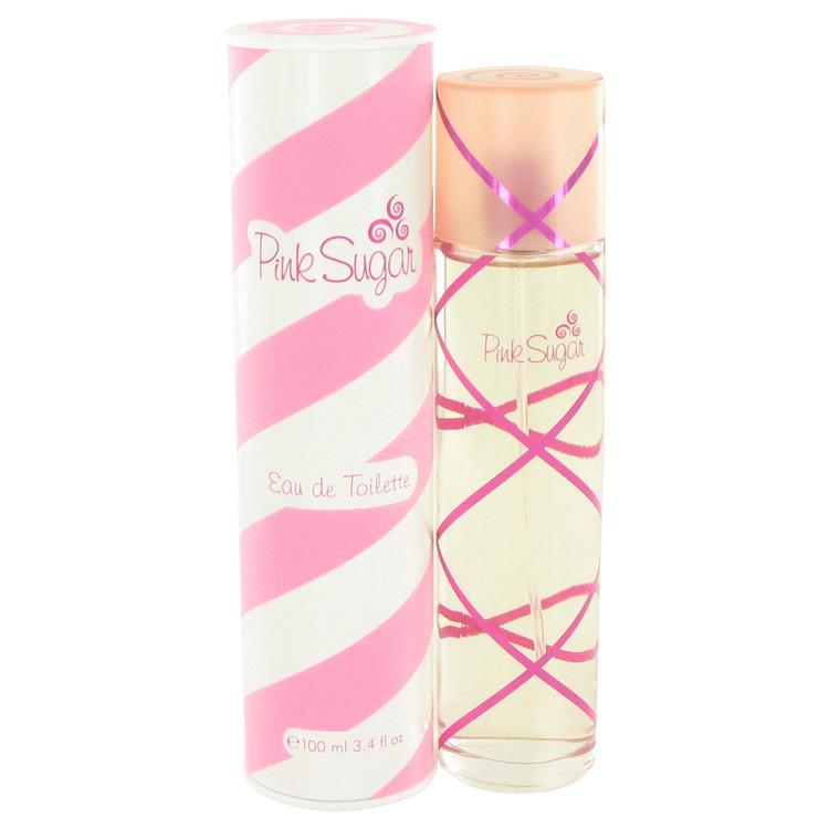 Womens Pink Sugar Perfume by Aquolina Edt Spray 3.4 oz