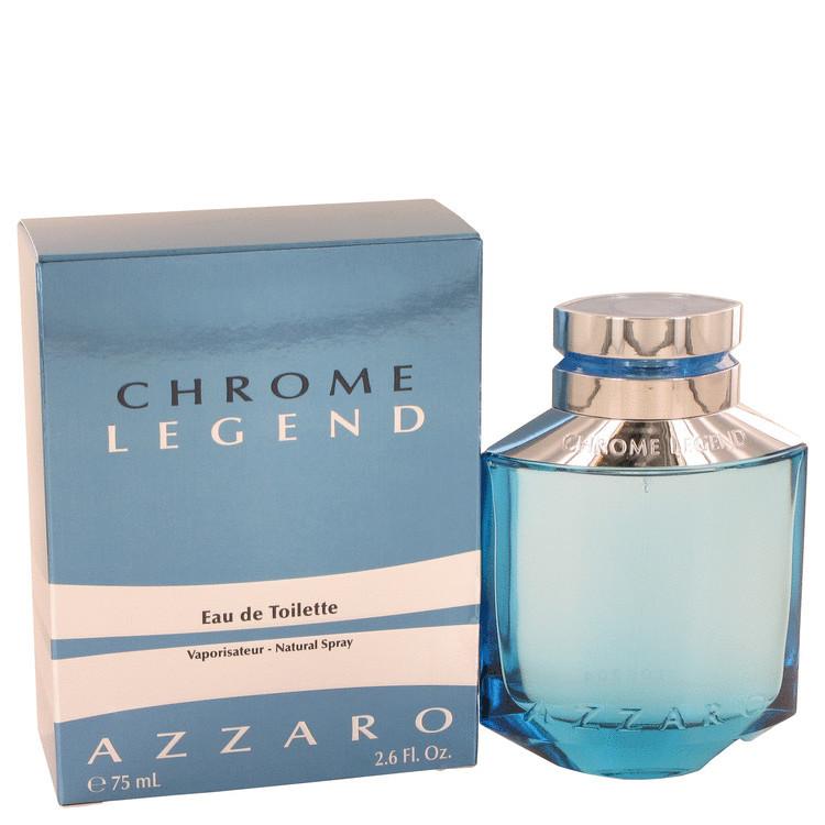 Azzaro Chrome Legend Cologne by Azzaro for Men Edt Spray 1.4 oz