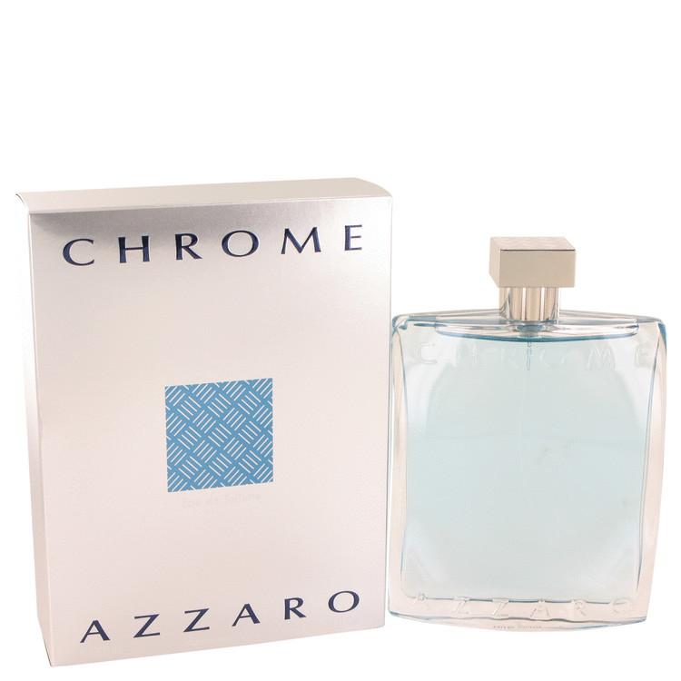 Azzaro Chrome Cologne Mens by Azzaro Edt Spray 6.8 oz
