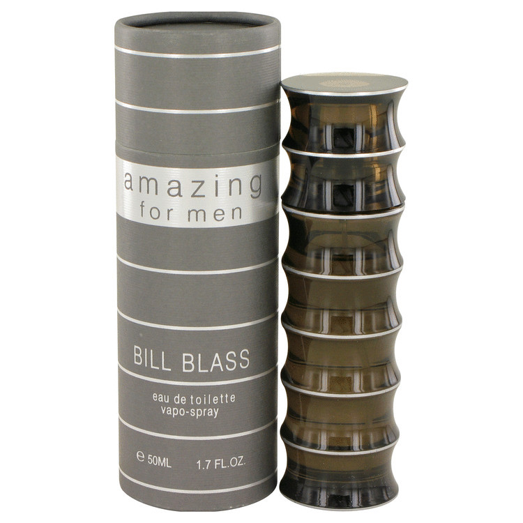 Amazing Cologne for Men by Bill Blass Edt Spray 1.7 oz