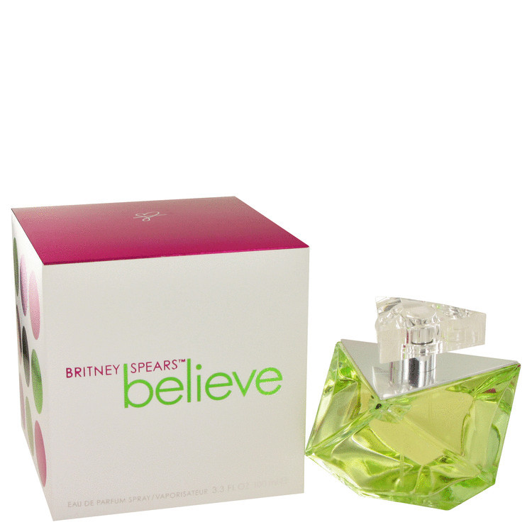 Believe Perfume for Women by Britney Spears Edp Spray 3.4 oz