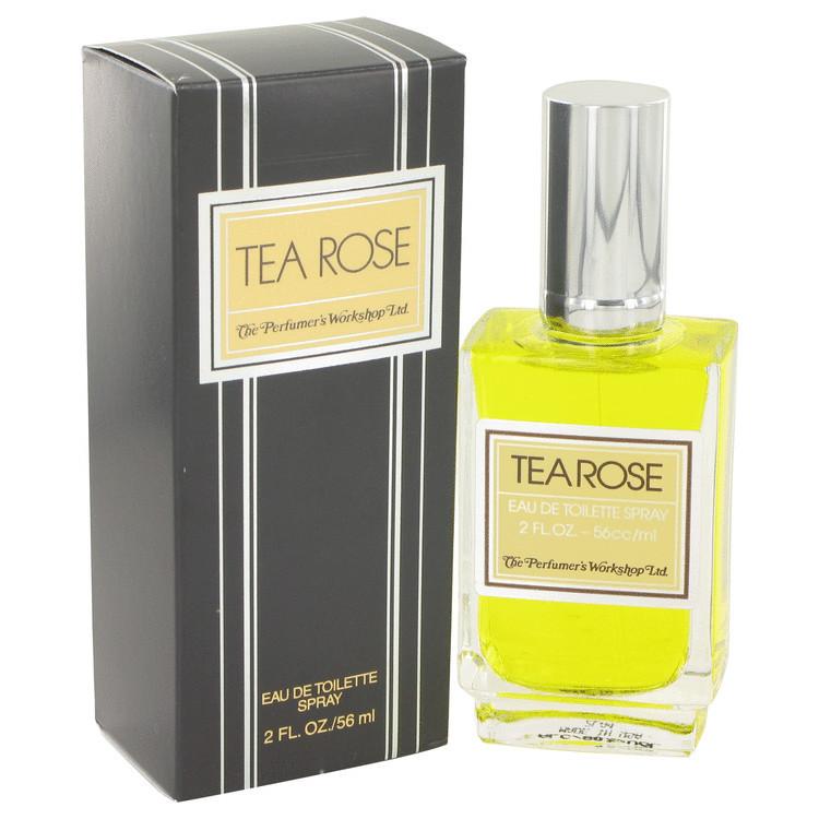 Tea Rose Perfume for Women by Perfumer's Workshop Edt Spray 2.0 oz