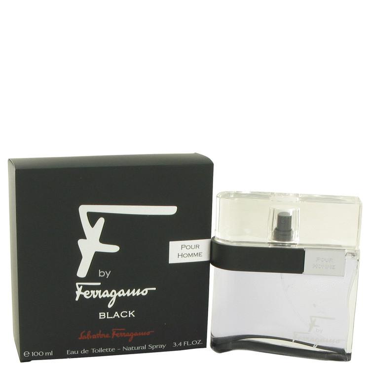 F Black Mens Cologne By Salvatore Ferragamo Edt Spray 3.4 oz