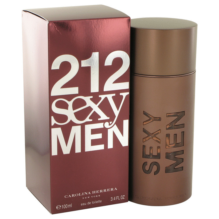 212 Sexy for Men by Carolina Herrera Edt 3.4 oz