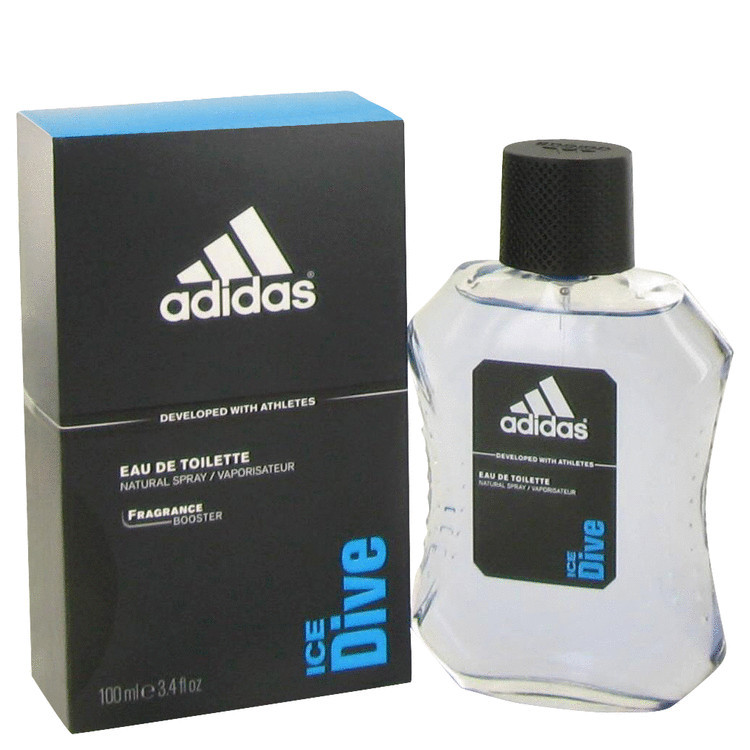 Adidas Ice Dive Mens Cologne by Adidas Edt 3.4 oz
