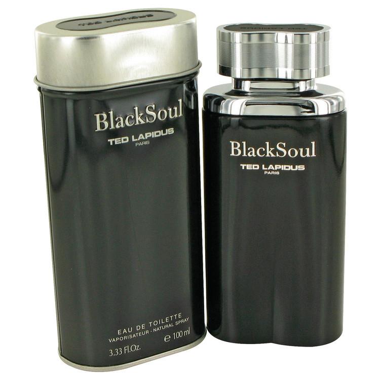 Black Soul Cologne by Ted Lapidus Edt 3.4 oz