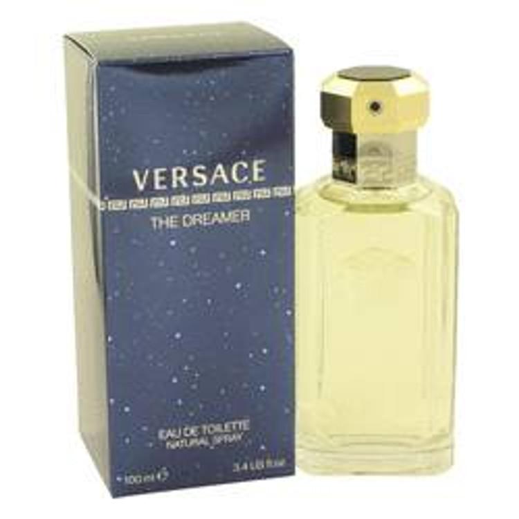Dreamer Fragrance by Versace For Men Edt spray 3.4 oz