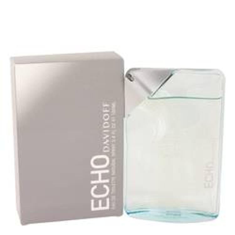 Echo (Tester) by Davidoff for Men Edt Spray  3.4 oz