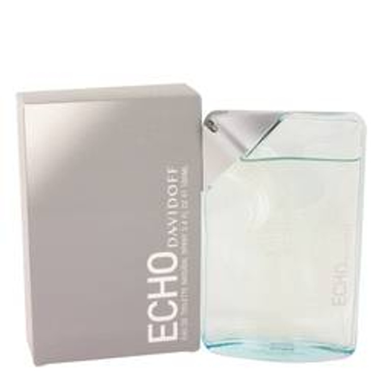 Echo Cologne Men By Zino Davidoff Edt Spray 3.4 Oz