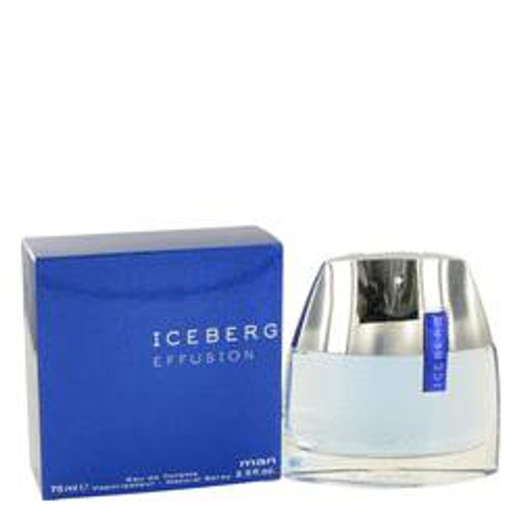Effusion Cologne by Iceberg For Mens Edt Spray  2.5oz