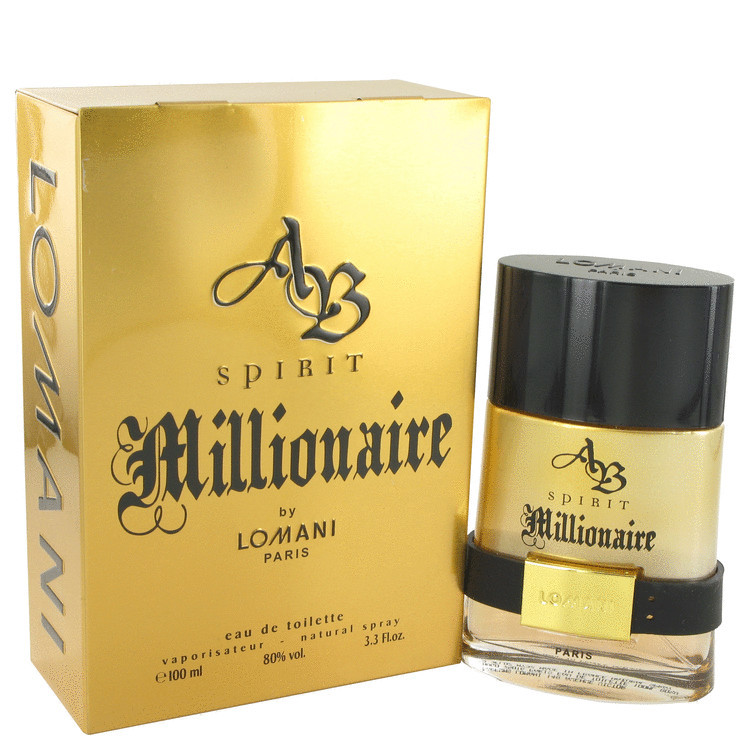 Lomani AB Spirit Millionaire Cologne for Men 3.3oz Edt Spray