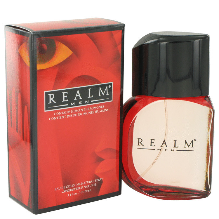 Realm Cologne For Men Edt Spray 3.4oz