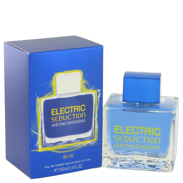 Seduction In Blue Electric Edt Spray 3.4oz