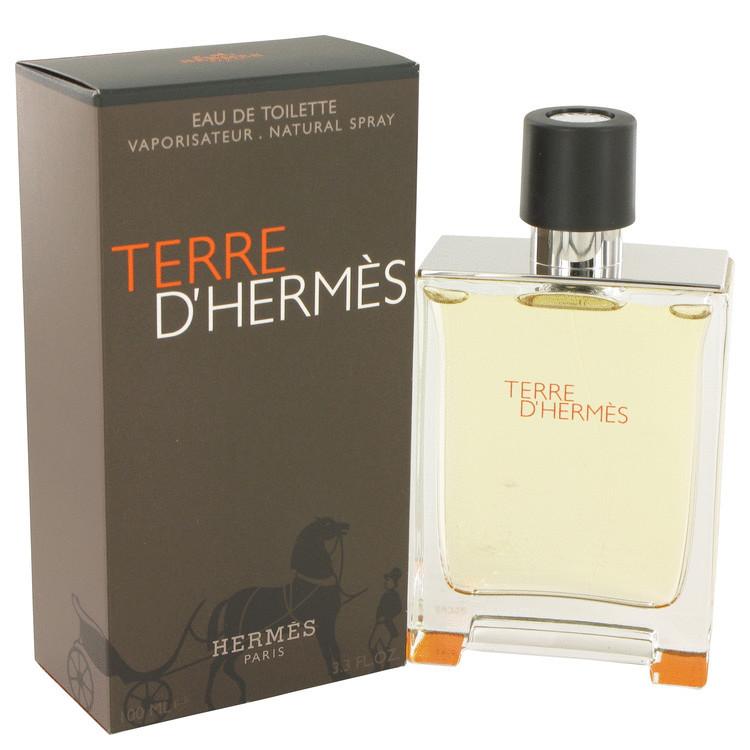 TERRE D'HERMES 3.4 oz EDT SPRAY FOR MEN