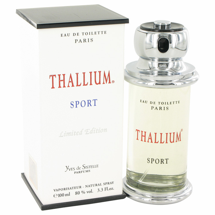 THALLIUM SPORT MENS COLOGNE 3.3oz EDT SPRAY