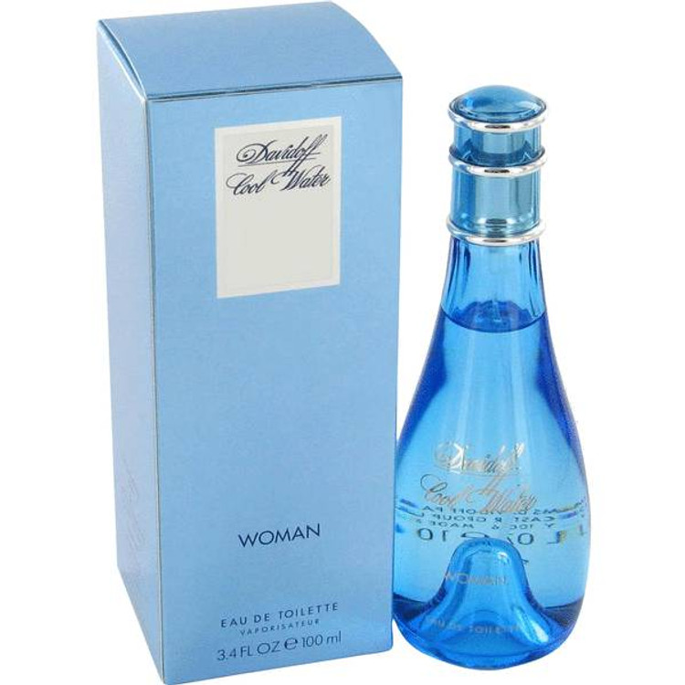 Cool Water by Zino Davidoff For Women Edt Sp Newpack 1.7 oz