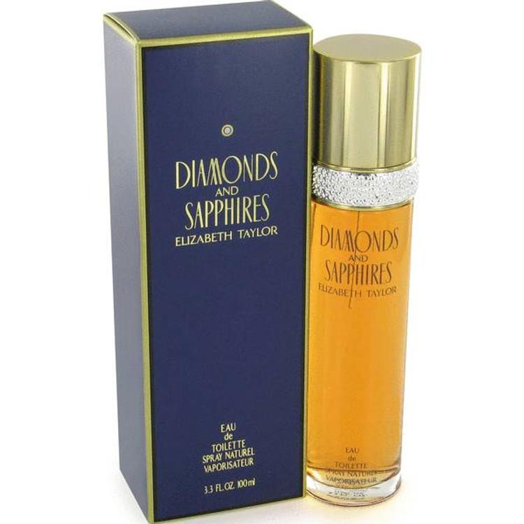 Diamond & Shapires Womens by Elizabeth Taylor Edt Sp 1.7 oz