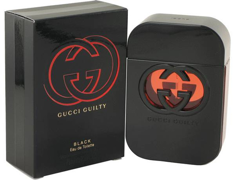Gucci Guilty Black Womens by Gucci Edt Sp 2.5 oz