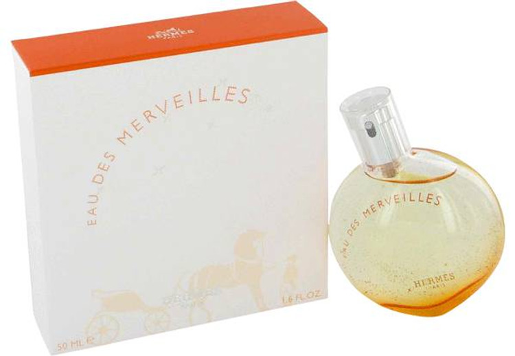 Eau Des Marvelles For Women By Hermes Edt Sp 1.7 oz