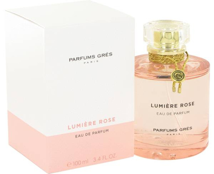 Lumiere Rose by Parfums Gres Edt Sp 3.4 oz