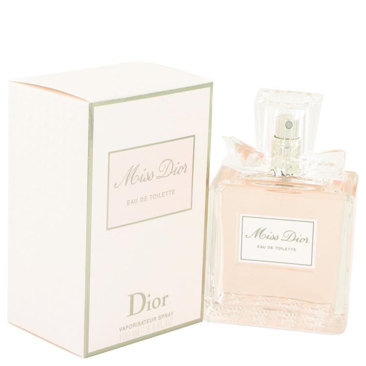 Miss Dior For Women Edt Spray 3.3 oz