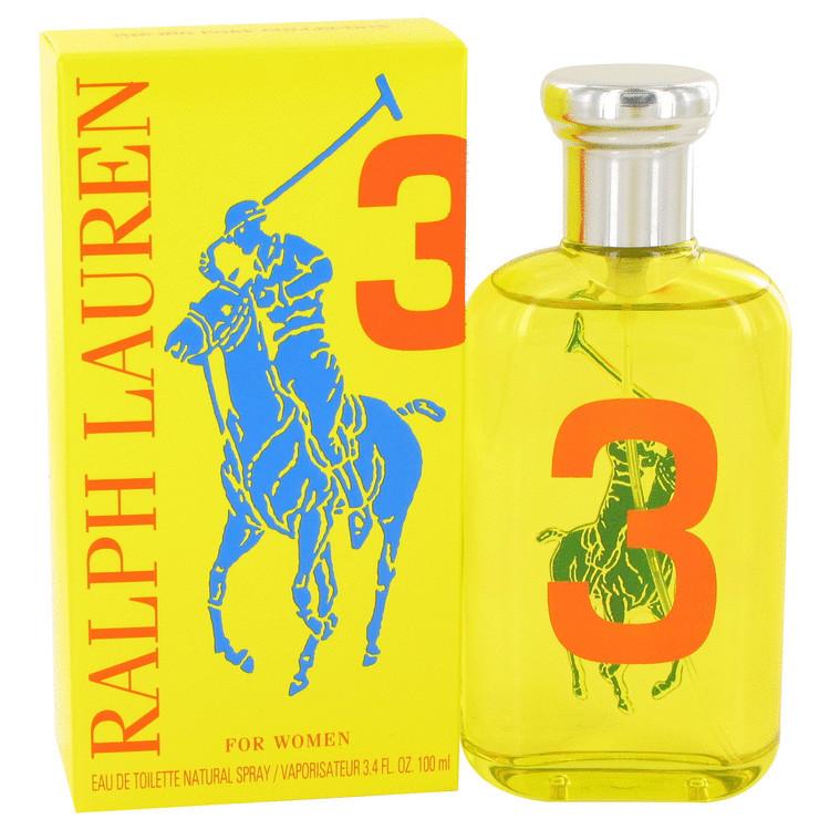 Big Pony Yellow 3 by Ralph Lauren For Women Eau de Toilette Spray 3.4 oz