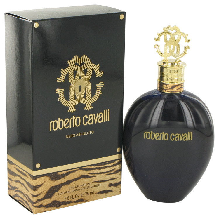 Nero Assoluto by Roberto Cavalli For Women Eau De Parfum Spray 2.5 oz