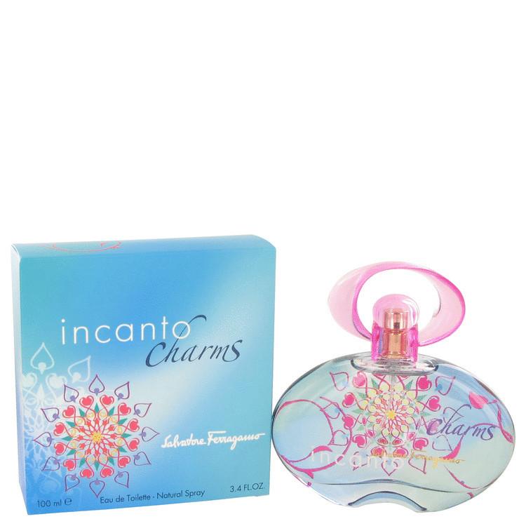 Incanto Charms by Salvatore Ferragamo for Women EDT Spray 3.4 oz