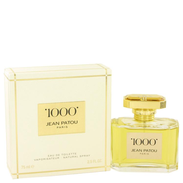 Jean Patou 1000 by Jean Patou For Women Eau De Parfum Spray 2.5 oz