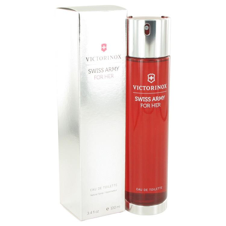 Swiss Army Fragrance for Women 3.4oz Edt Sp