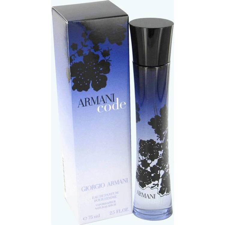 Armani Code by Giorgio Armani Eau De Parfum Spray 2.5 oz for Ladies