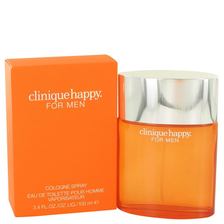 CLINIQUE HAPPY by Clinique 3.4 oz for Men COLOGNE Spray