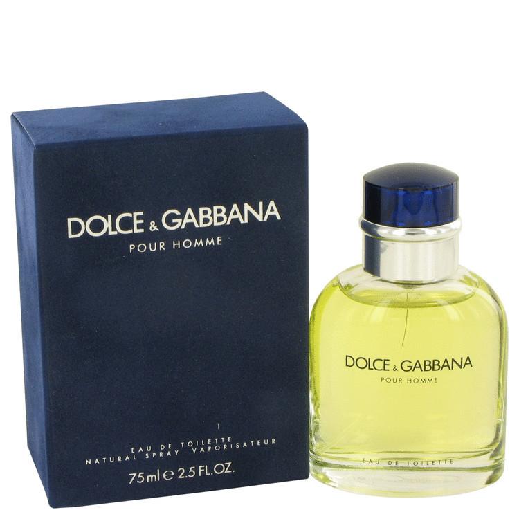 DOLCE GABBANA by Dolce & Gabbana 2.5 oz EDT Men's Spray