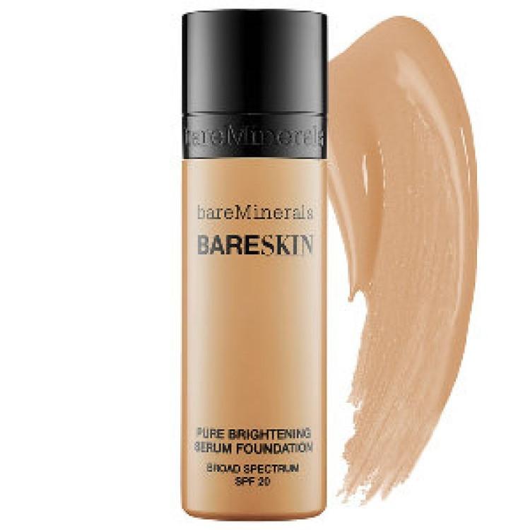 bareMinerals bareSkin Pure Brightening Serum Foundation SPF 20 Bare Sand 1 oz