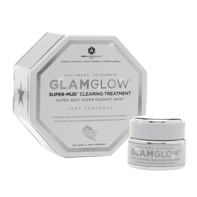 GlamGlow Super-Mud Clearing Treatment 1.2 oz
