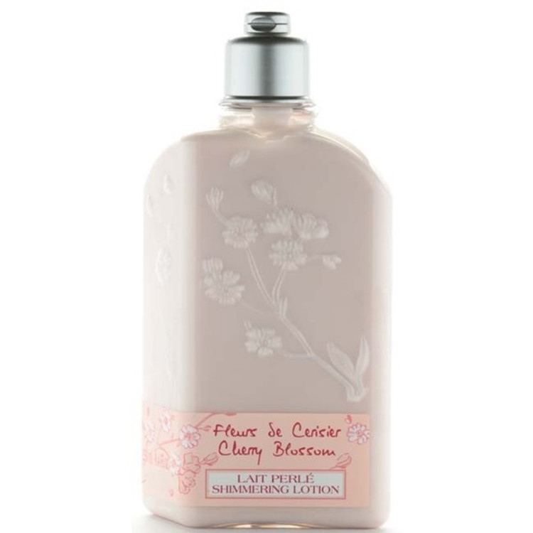 L'Occitane En Provence Cherry Blossom Shimmering Body Lotion 8.4 oz