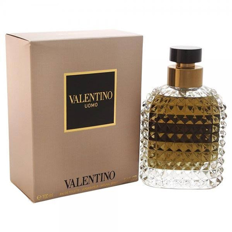 Valentino Uomo Eau De Toilette Spray for Men, 3.4 Ounce