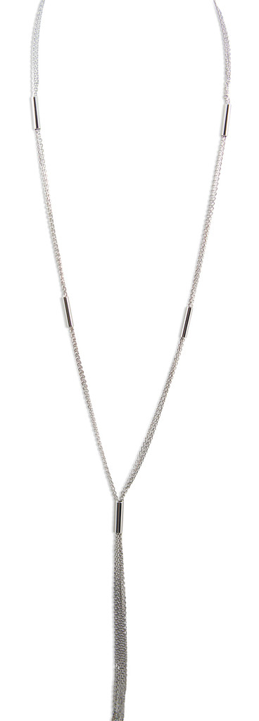 925 Silver Multi Strand Necklace