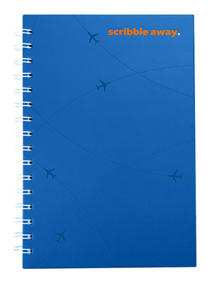flydubai spiral notebook - Blue
