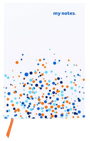 flydubai notebook - Dot Pattern